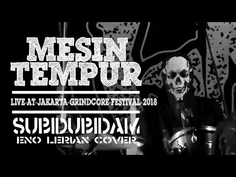 MESIN TEMPUR - Subidu bidam (live) (HD) // Jakarta Grindcore Festival 2018 // Indonesia