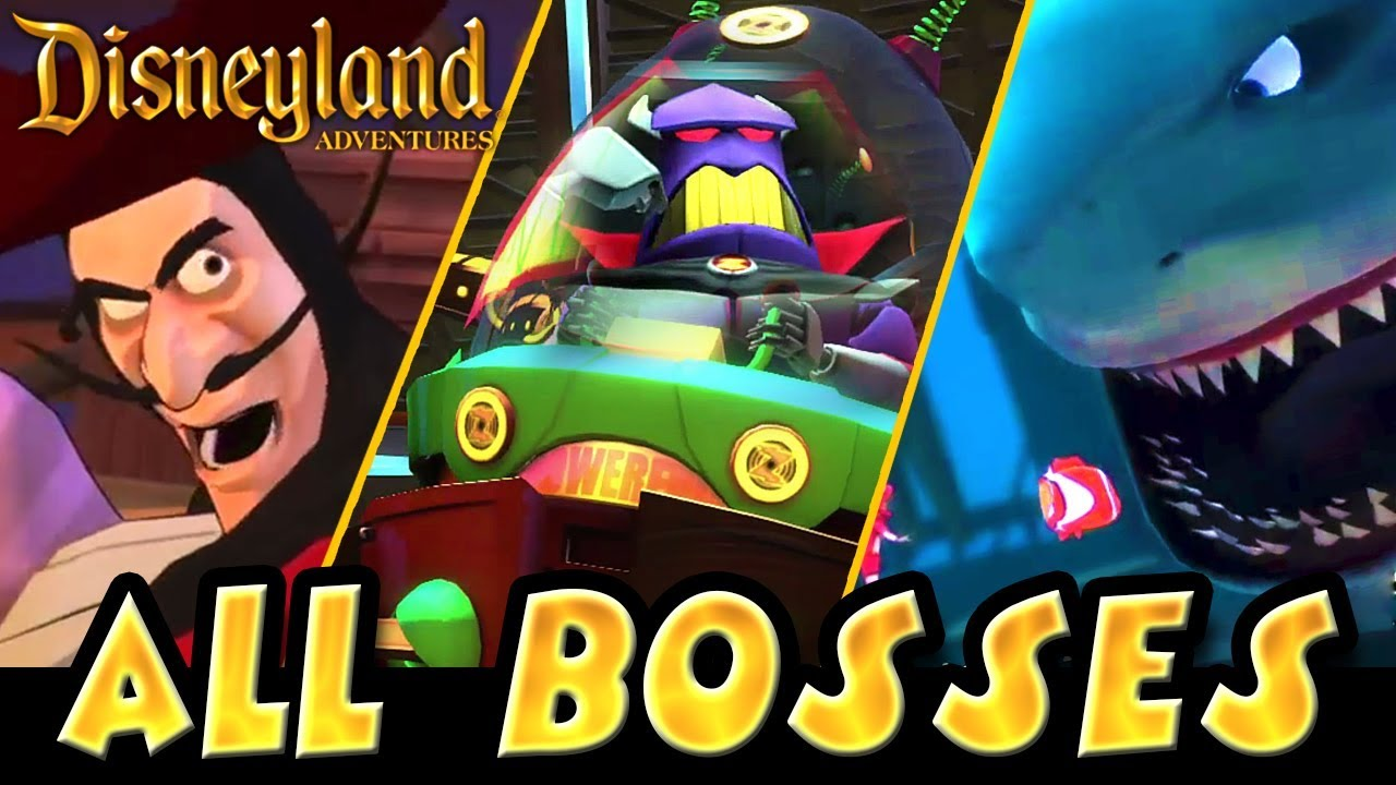 Download Disneyland Adventures All Bosses | Boss Fights  (PC, Xbox One, X360)