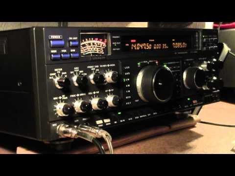 W1AW 20 WPM  CW Practice  ( Morse Code )
