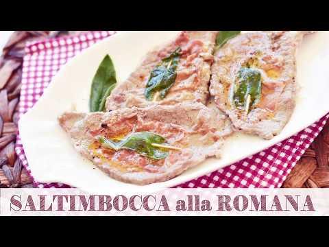 SALTIMBOCCA ALLA ROMANA   Ricetta SEMPLICE E VELOCE   Di SempliceVeloce.it