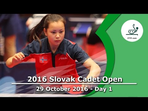 2016 Slovak Cadet Open - Day 1