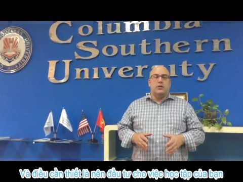 Giảng viên MBA (Thạc sĩ quản trị kinh doanh) đại học Nam Columbia – Dr  Geoffrey Vanderpal in VN –