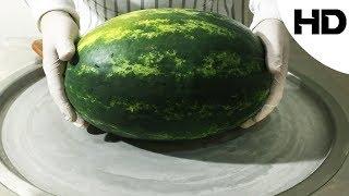 ايس كريم على الصاج بالبطيخ (مع تقيمي للطعم)- Watermelon