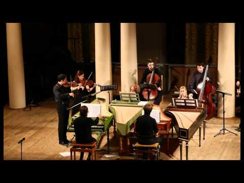 Bach - Concerto for 4 Harpsichords BWV 1065 in a (after Vivaldi)