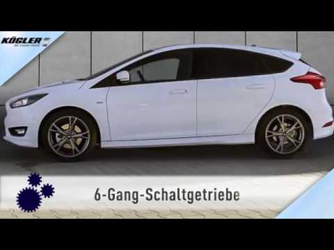 ford focus 1 5 ecoboost st line navi 21 youtube. Black Bedroom Furniture Sets. Home Design Ideas