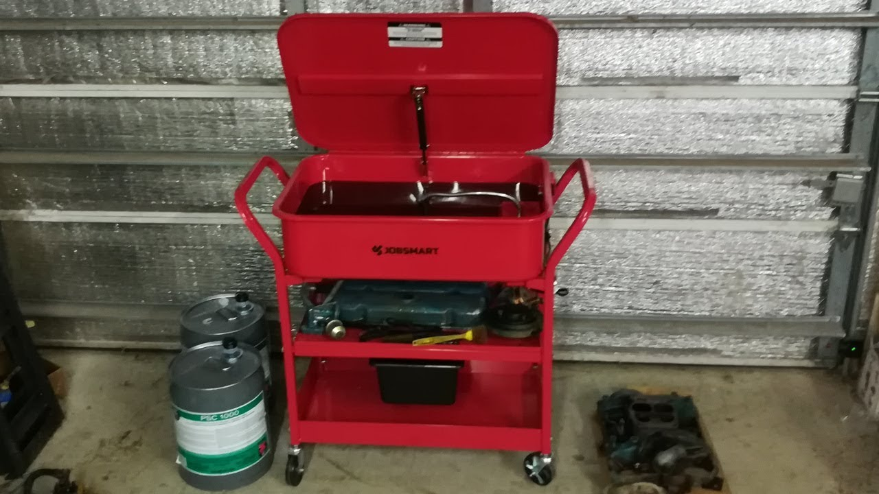 JobSmart 20 gallon Parts Washer from Tractor Supply