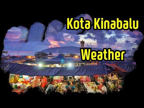 Kota Kinabalu weather. 코타키나발루 날씨 정보(강수량,건기우기,월 기온 등)