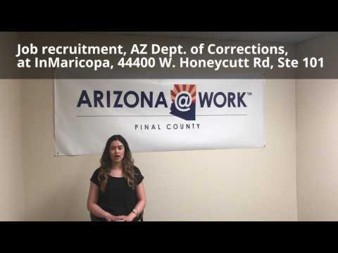 AZ Dept Of Corrections Job Recruitment In Maricopa