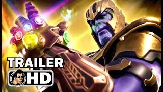 Fortnite - Thanos And Infinity Gauntlet Gameplay Trailer  2018  Epic Games Hd