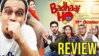 BADHAAI HO - MOVIE TRAILER REVIEW | AYUSHMANN KHURRANA