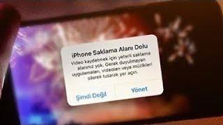 iPhone saklama alanı boşaltma  2020