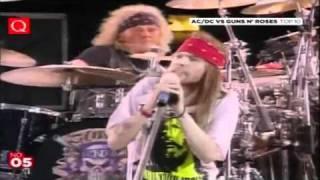 Guns n Roses Knocking on Heavens door HD LIVE