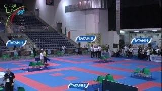 Tatami 3,4,5,6 Day 2 WAKO World Championships 2018