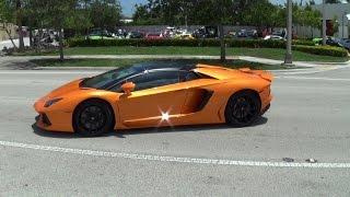 Supercars Taking off! Acceleration, Lamborghini Ferrari McLaren Viper & more Supercar Paradise