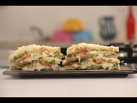 Bombay Cheese Sandwich | 5 Types Of Cheese Sandwiches Chef Anupa | Sanjeev Kapoor Khazana