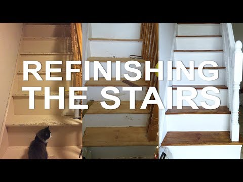 Farm House Restoration | Refinishing the Stairs | EP. 5 |