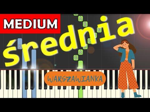 🎹 Warszawianka - Piano Tutorial (średnia wersja) 🎹