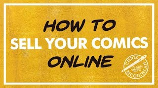 How To Sell Your Comics Online