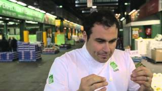 Miguel Maestre at Sydney Markets for My Food Bag