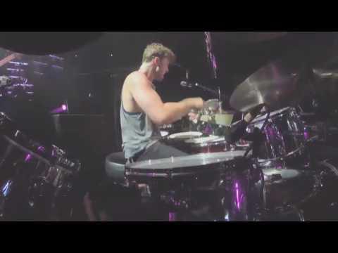 Ashton's Drum Solo during She's Kinda Hot