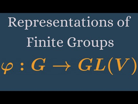 Representations of Finite Groups   Definitions and simple examples.