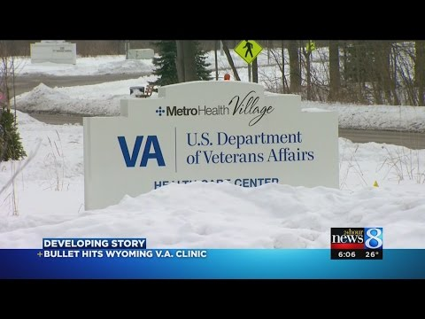 Bullet fired at Wyoming VA clinic building