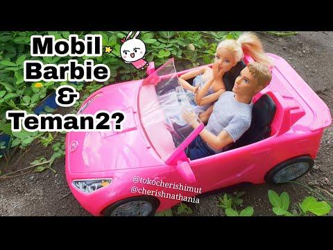 Mobil Barbie Glam Convertible Car Cantik - Koleksi Mainan Anak Perempuan Barbie Bahasa Indonesia