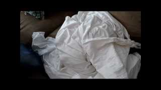 Miracle Laundry: bright-white sheets!
