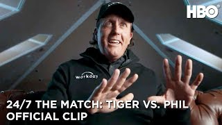 Tony Romo & Mickelson's Dinner Without Tiger | 24/7 The Match: Tiger Woods vs. Phil Mickelson