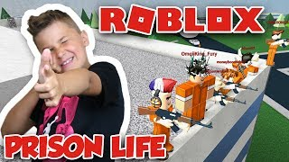 PARTY ON THE ROOF ! | PRISON LIFE in ROBLOX | BEST SQUAD EVER !