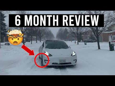Am I Keeping My Tesla Model 3 After its FIRST Winter In Canada?
