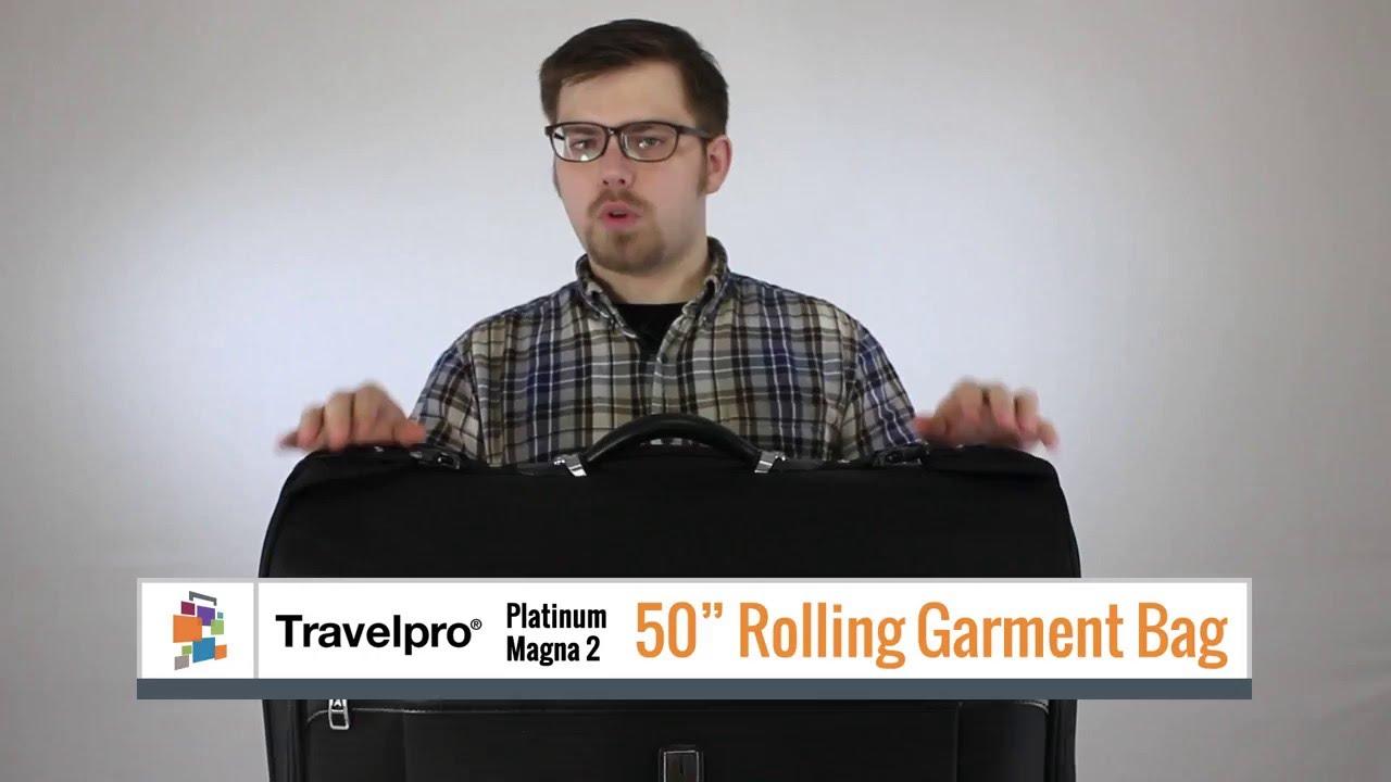 Travelpro Platinum Magna 2 50 Rolling Garment Bag
