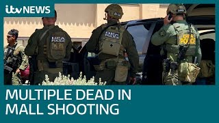 Multiple killed after shooting rampage at Texas mall | ITV News