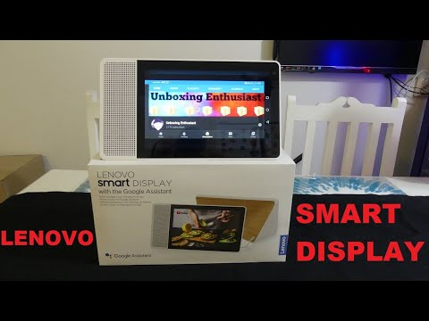 Lenovo Smart Display 10 With Google Assistant Unboxing & Review