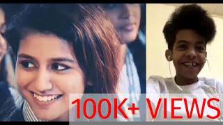 Priya Prakash Varrier And Abu Sin | Funny Video | Maaz Alam