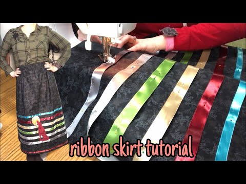 Simple Ribbon Skirt Tutorial: From Start To Finish!