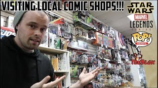 TOY HUNTING - SMALL BUSINESS SATURDAY!! LOCAL COMIC SHOP SALES (BLACK FRIDAY)