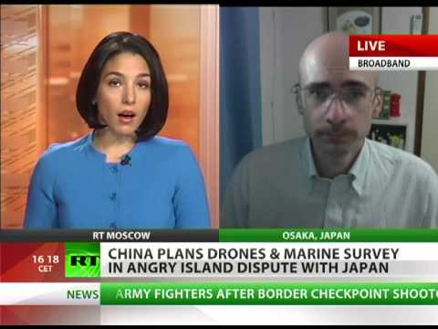 Chinese drones, marine survey heat up island dispute with Japan