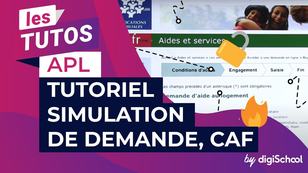 Apl Tutoriel Simulation De Demande Caf Youtube