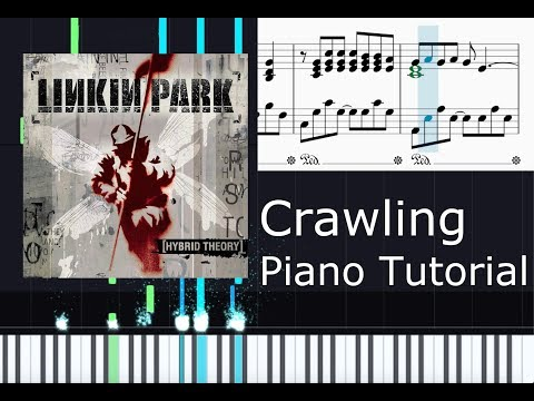 Crawling - Linkin Park easy Piano Tutorial w/ sheet music [Downloadlink in the description] thumbnail