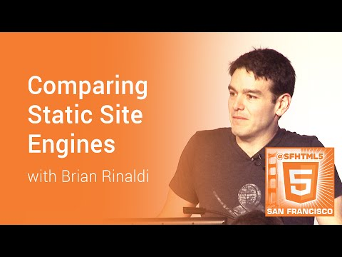 Comparing Static Site Engines with Brian Rinaldi