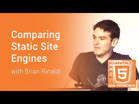 Comparing Static Site Engines with Brian Rinaldi