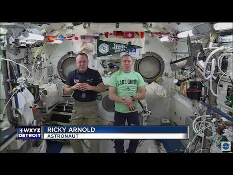 Oakland County students talk with astronauts onboard the International Space Station