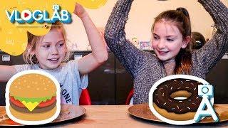 Squishies VS Real Food met Chloé | Vloglab