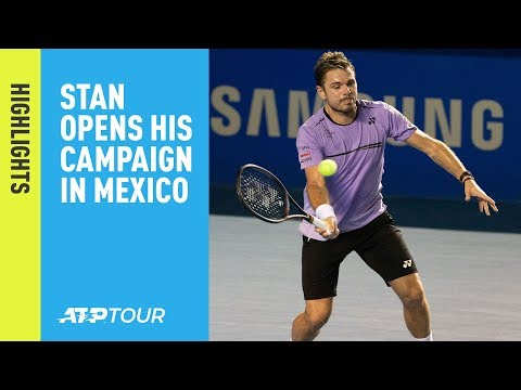 Highlights: Wawrinka, Tiafoe Open Acapulco 2019 Bids