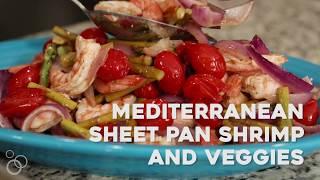 Easy Mediterranean Baked Shrimp and Vegetables