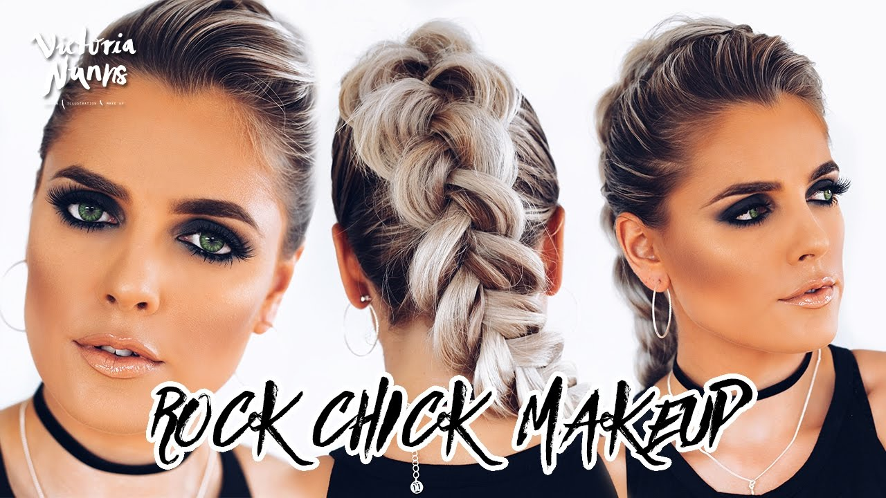 Rock Chic Makeup Tutorial Victoria Nunns