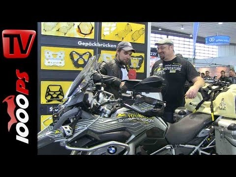 Touratech Zubehör 2014 BMW R 1200 GS - Interview mit Jo Glaser