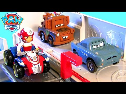 paw patrol ultimate rescue truck paw patroller disney cars. Black Bedroom Furniture Sets. Home Design Ideas