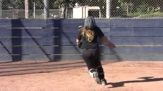 Savanna Salyer-Kovacs Class of 2017 (Catcher, 1st Base) Softball Skills Video